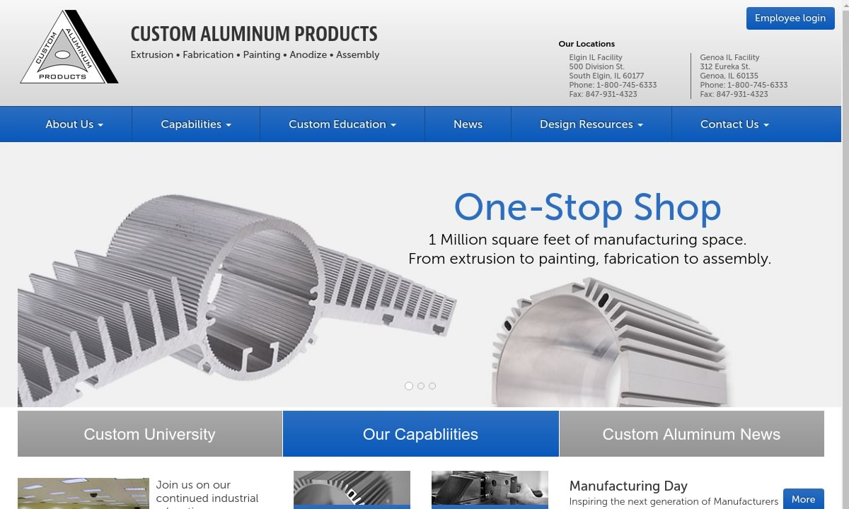 Custom Aluminum Products, Inc.