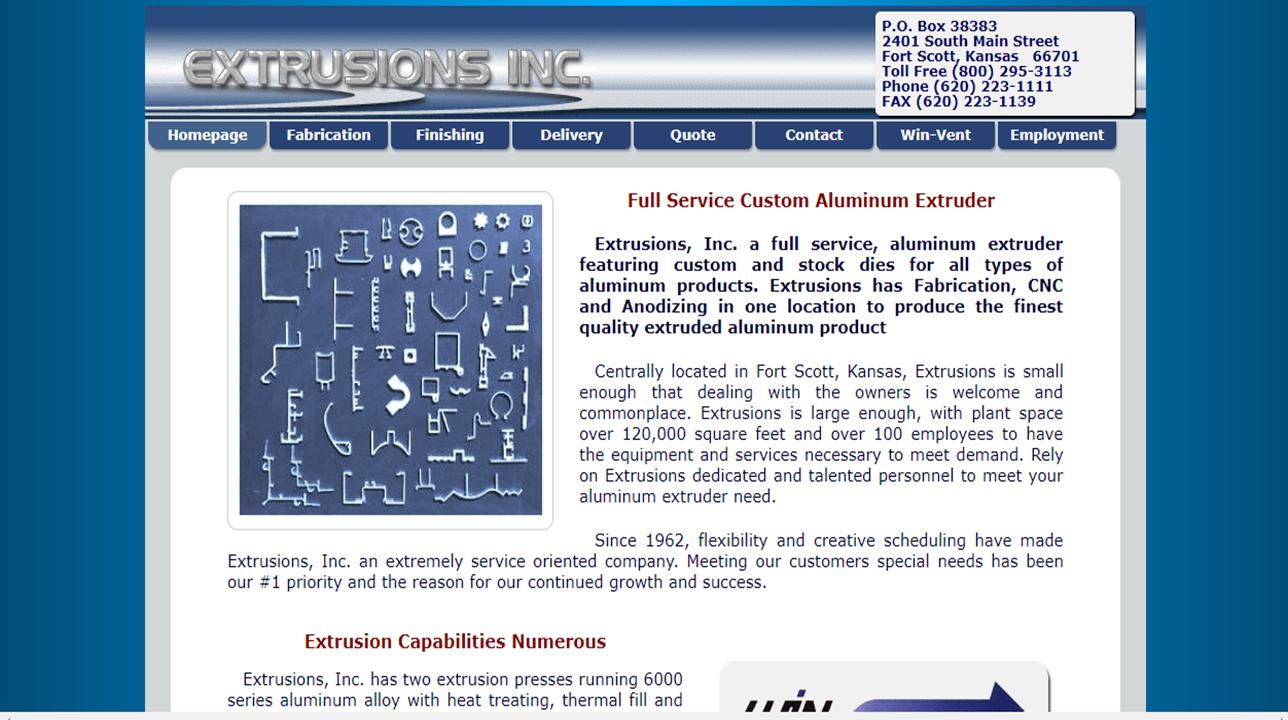 Extrusions, Inc.
