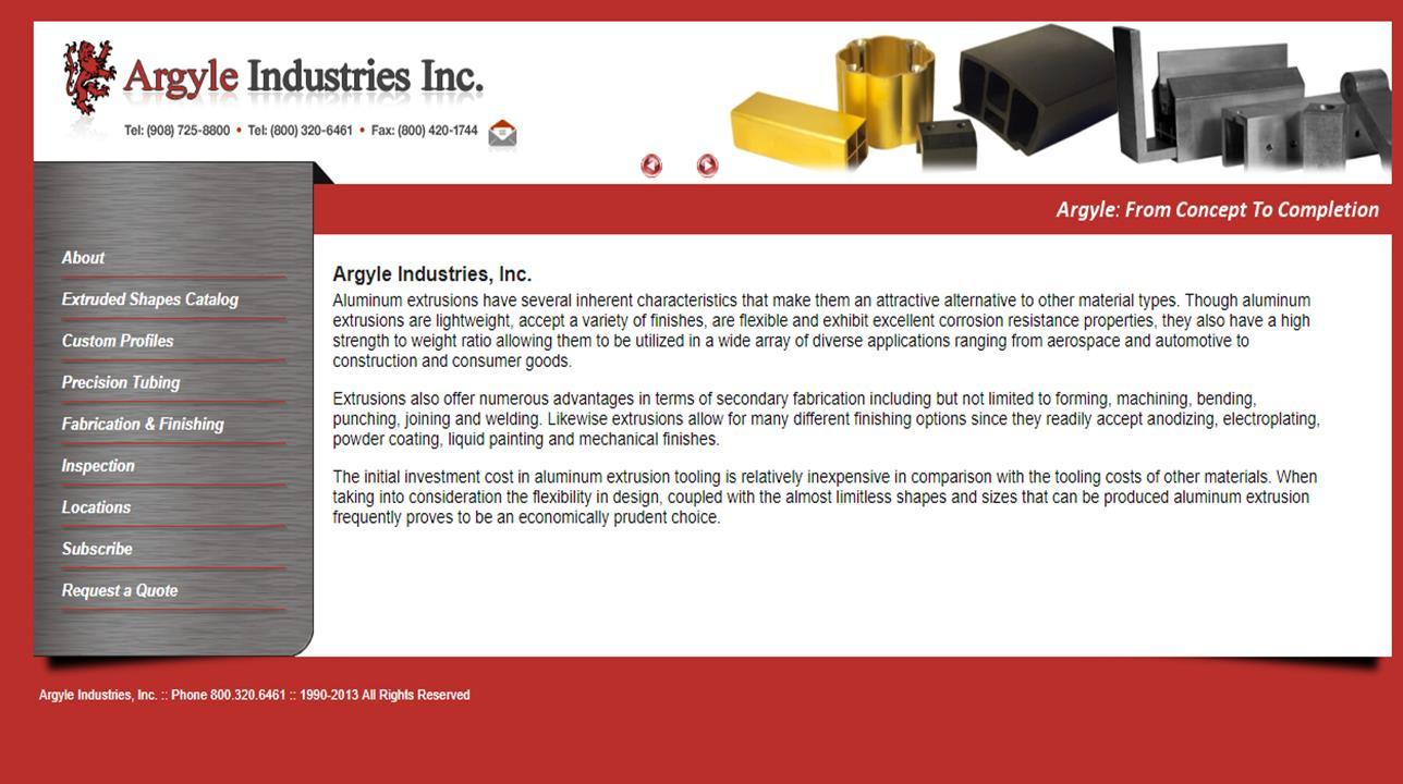 Argyle Industries, Inc.