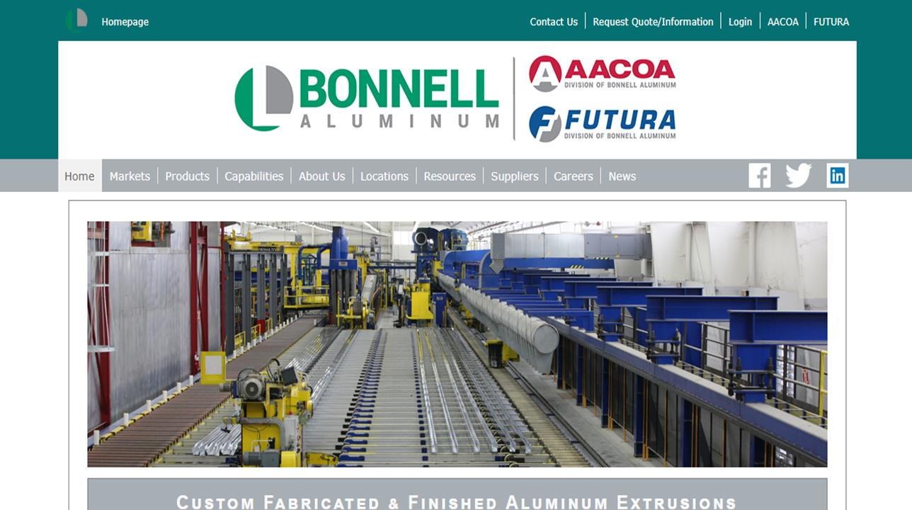 Bonnell Aluminum Extrusions