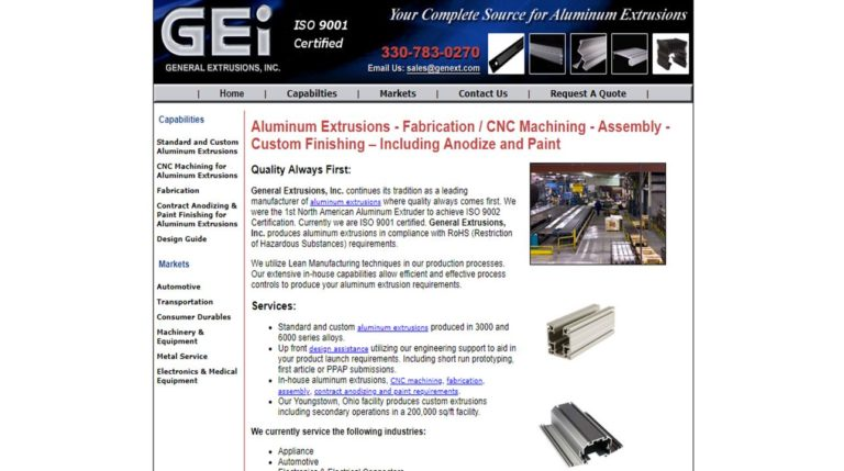 General Extrusions, Inc.