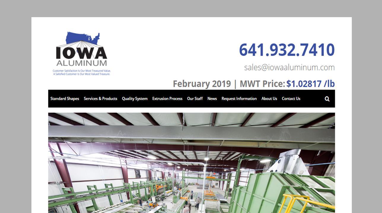 Iowa Aluminum, Inc.