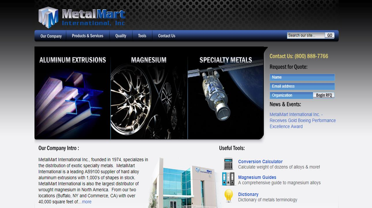 MetalMart International, Inc.