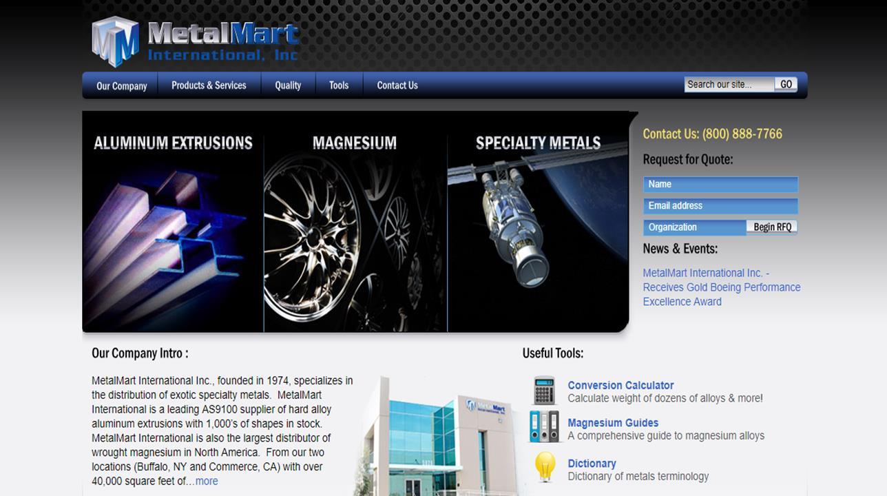MetalMart International, Inc.