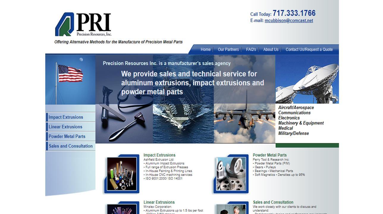 Precision Resources, Inc.