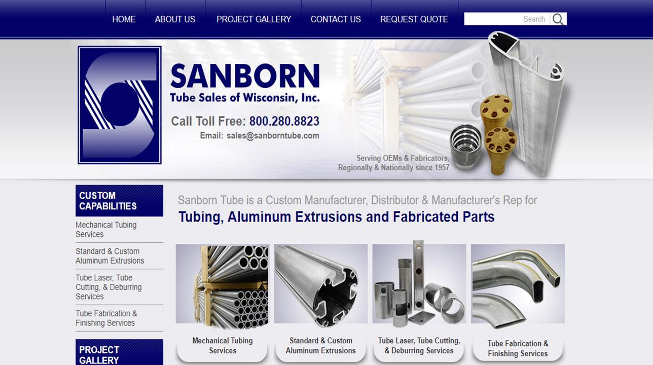 Sanborn Tube Sales