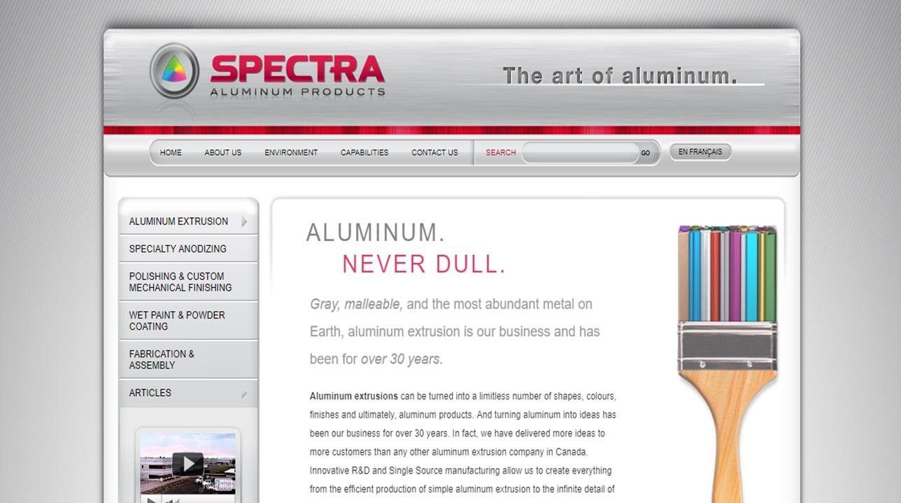 SPECTRA  Aluminum Products, Inc.