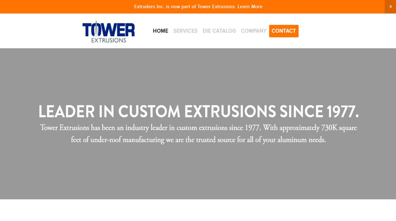 Tower Extrusions, Ltd