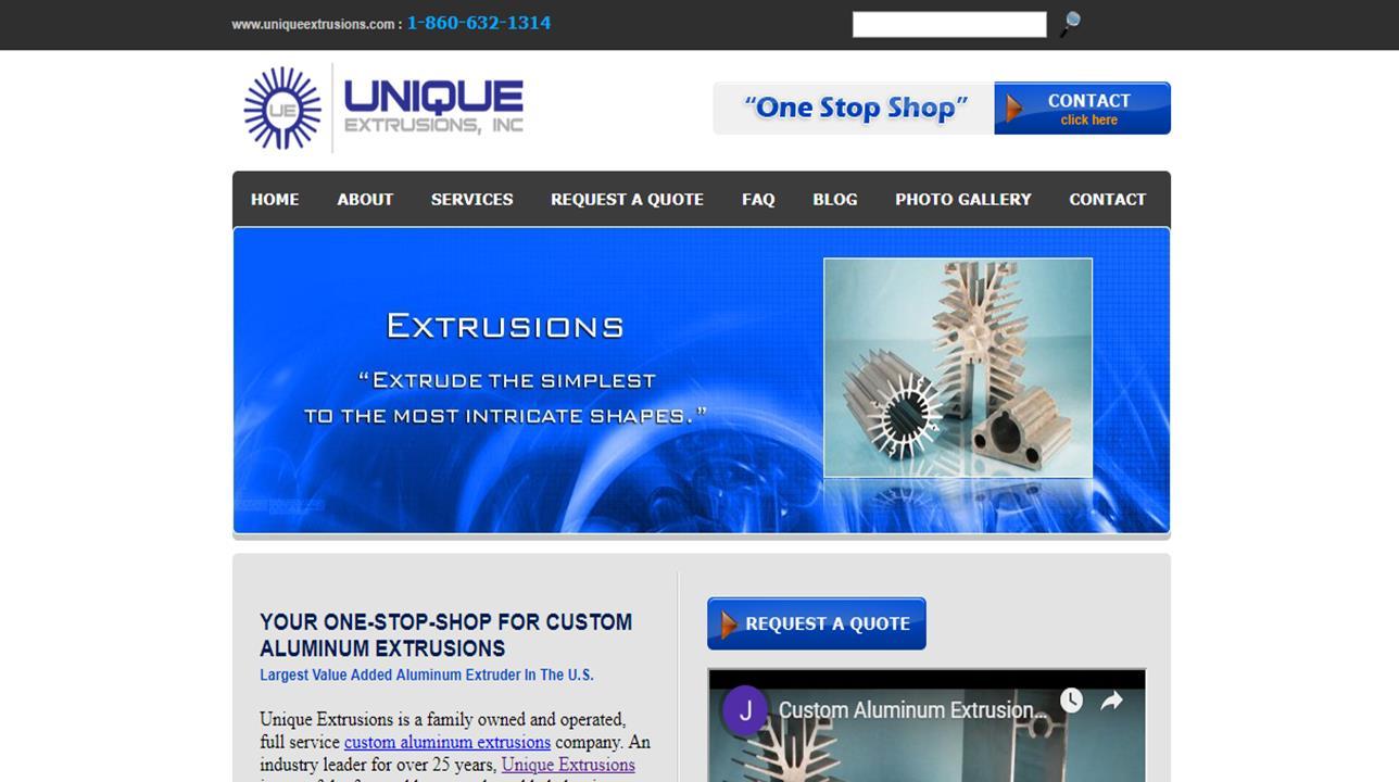 Unique Extrusions, Inc.