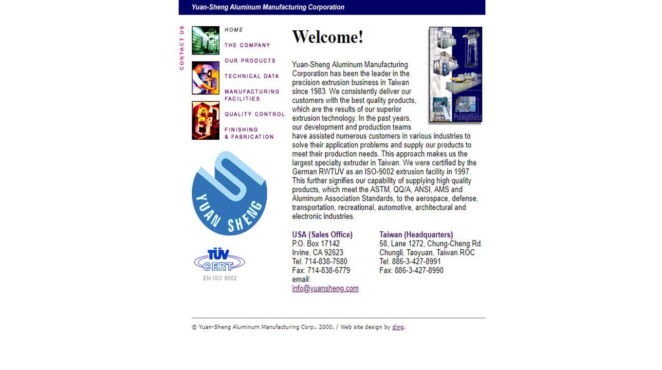 Yuan-Sheng Aluminum Manufacturing Corporation
