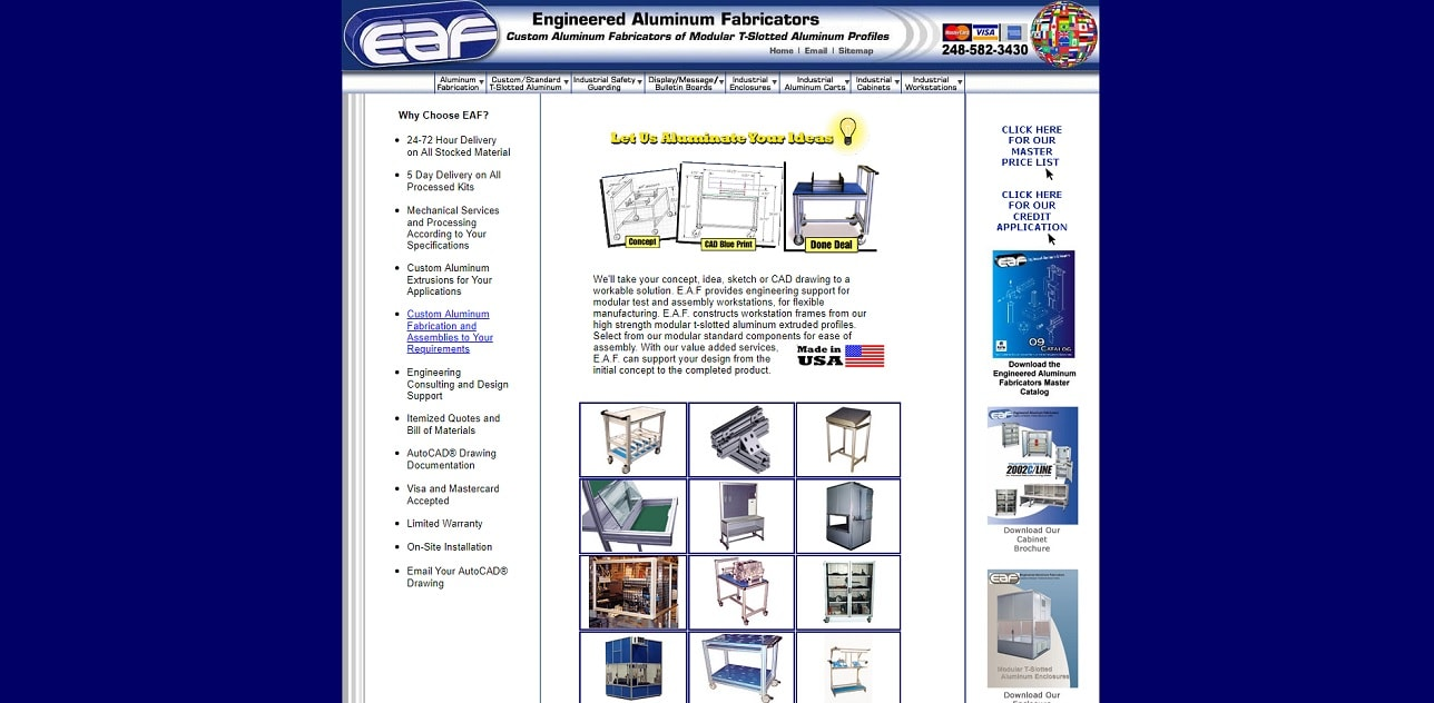 Engineered Aluminum Fabricators, Inc.