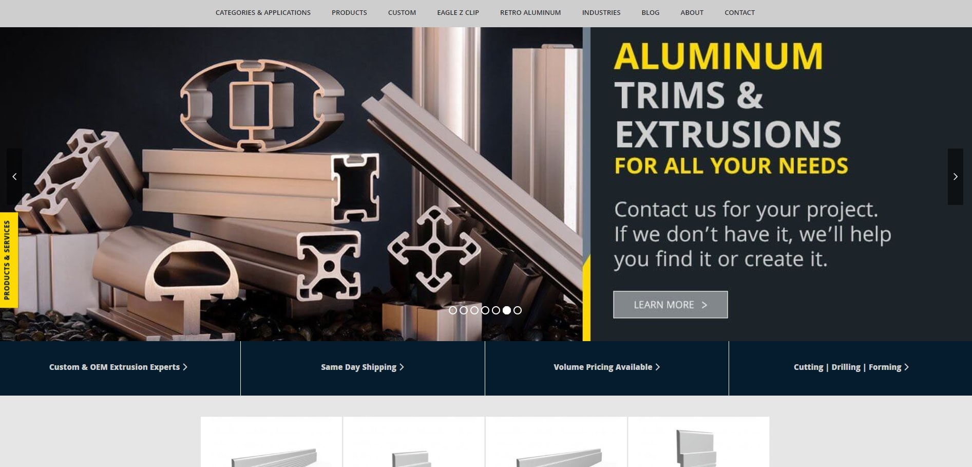 Aluminum Extrusion Manufacturers Aluminum Extrusion Suppliers